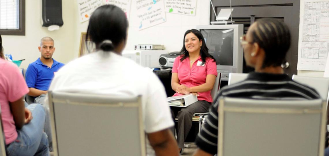 The Teen Health Clinic provides services to Harris County teens in and out of school.
