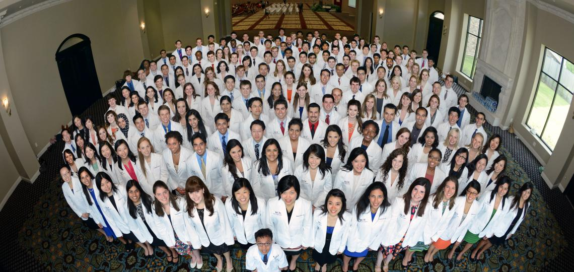 Medical Students White Coat Ceremony for the Class of 2016
